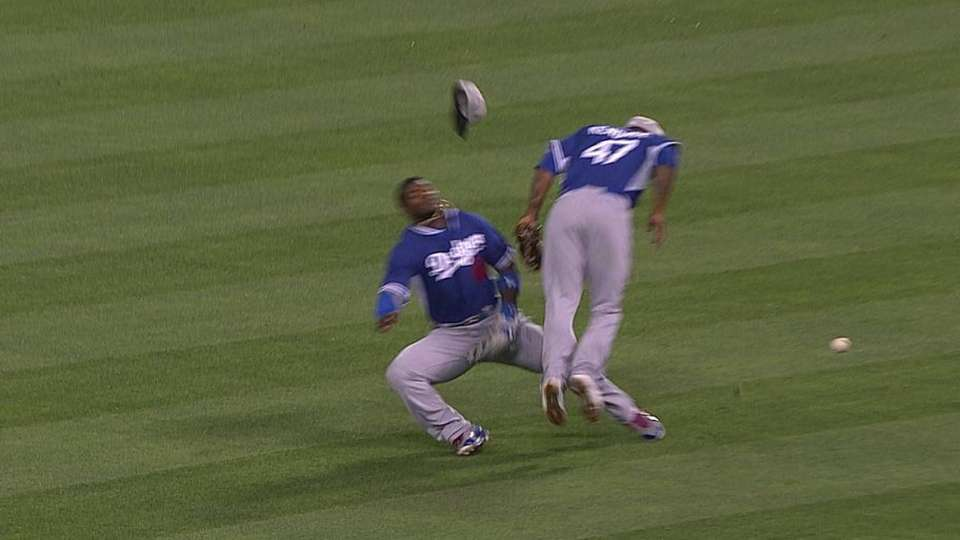 Puig's apparent injury