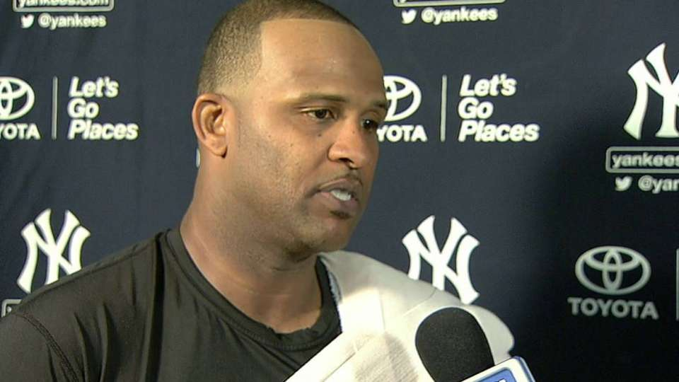 Sabathia on recovery, outing