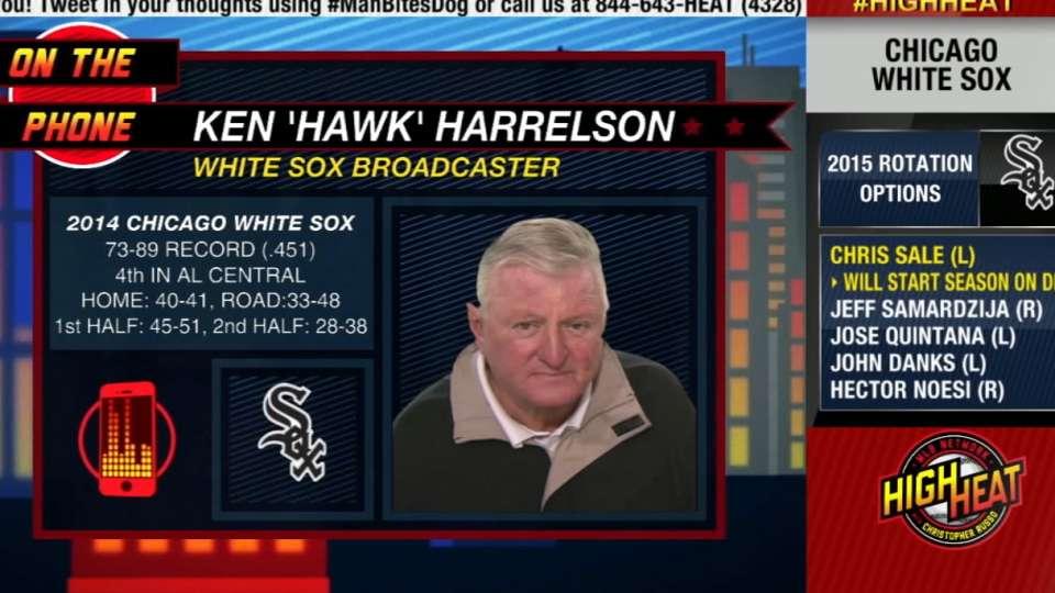 Hawk Harrelson on High Heat