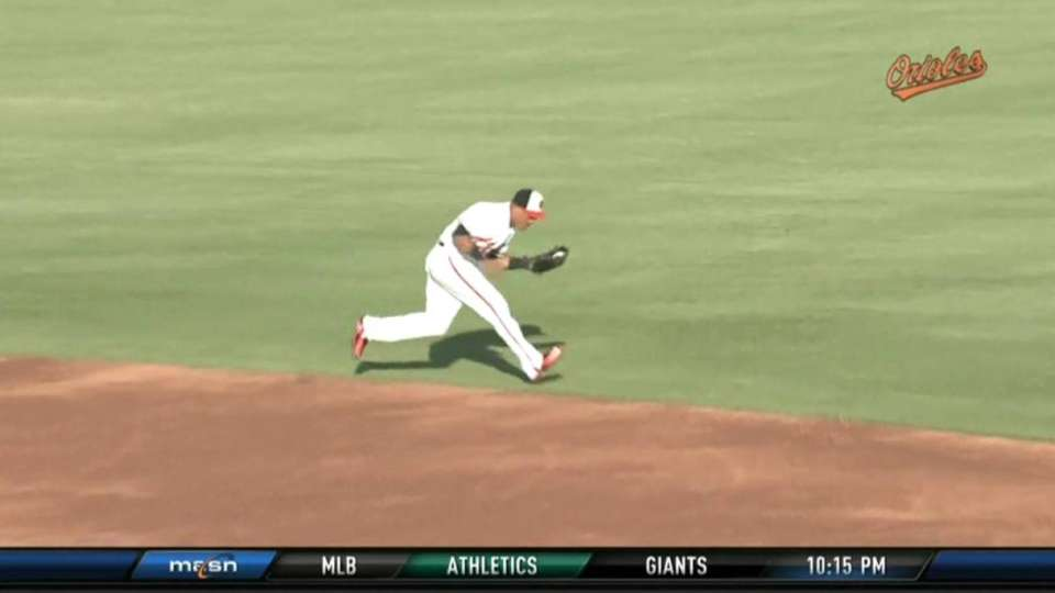 Cabrera's great grab