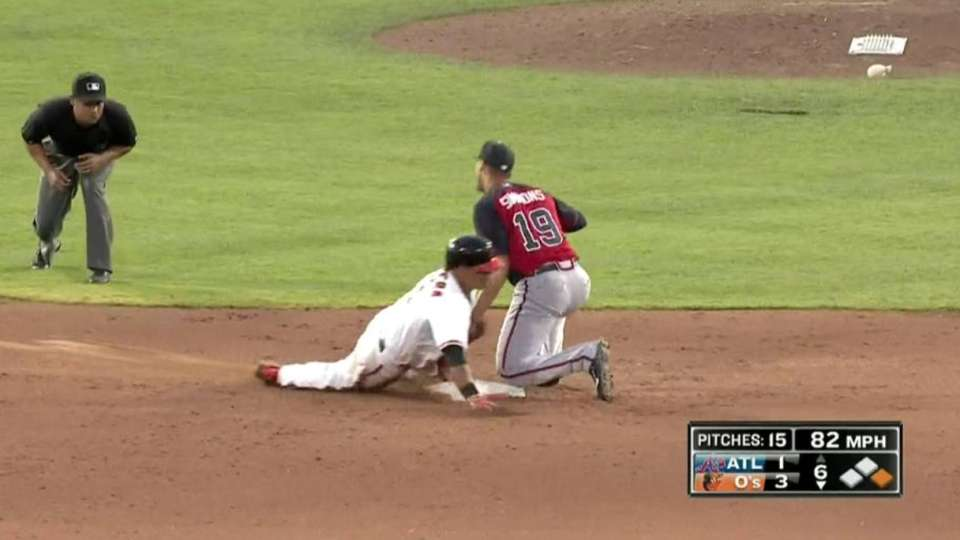 Braves nab Cabrera stealing