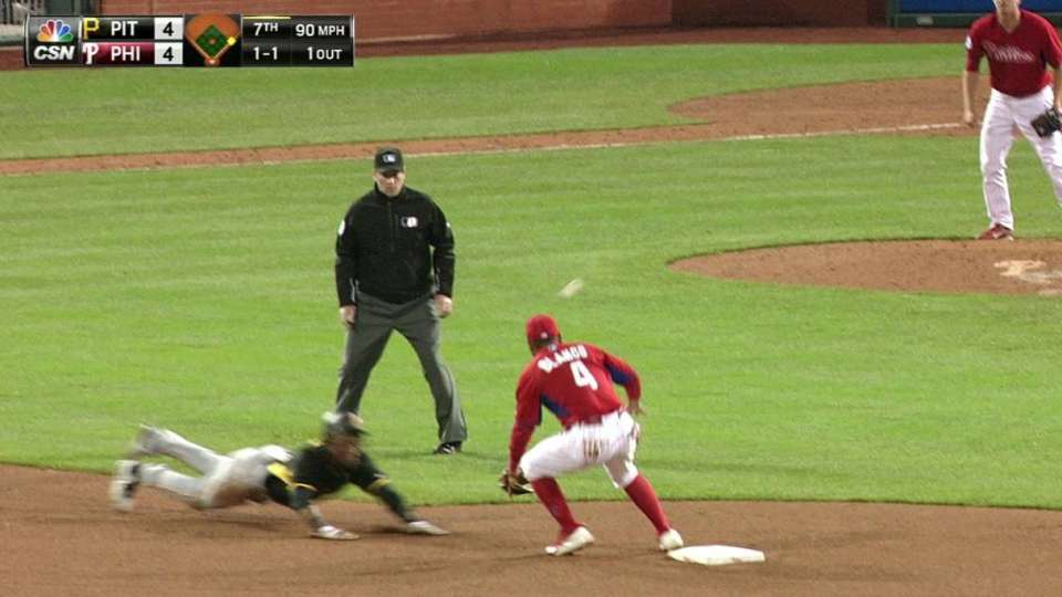 Marte swipes second