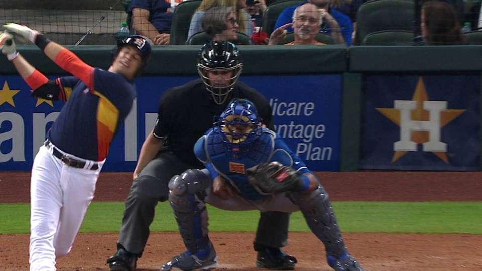 Volquez's seventh strikeout