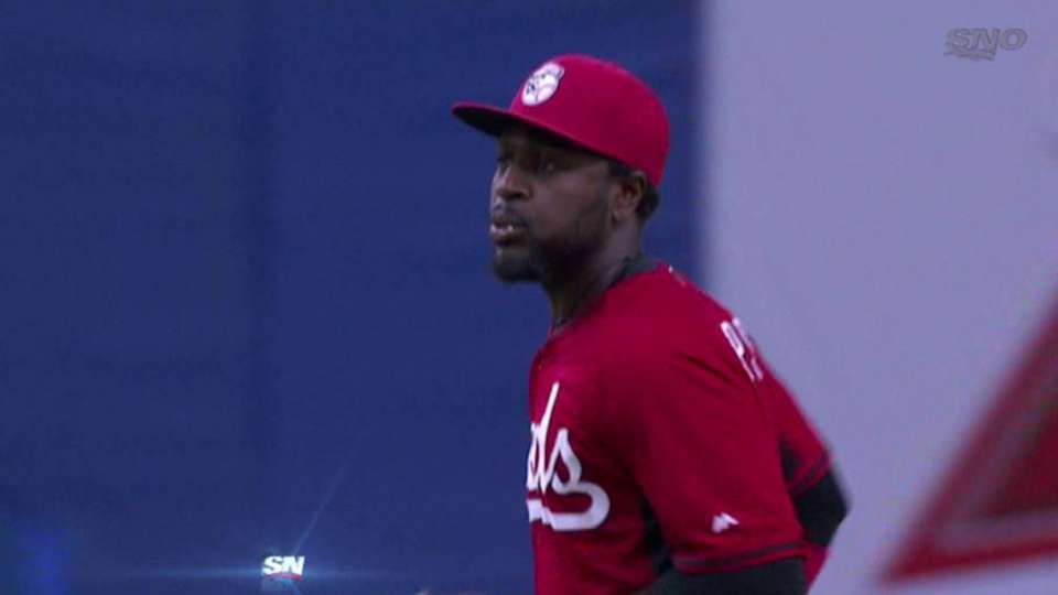 Phillips starts double play