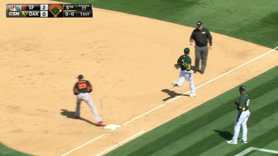 Hudson induces double play