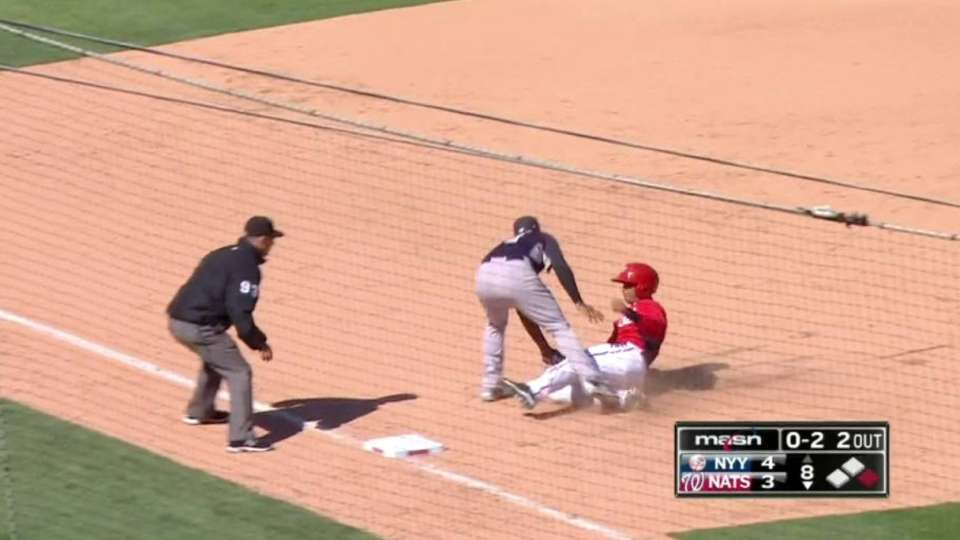 Miller starts 1-3-5 double play