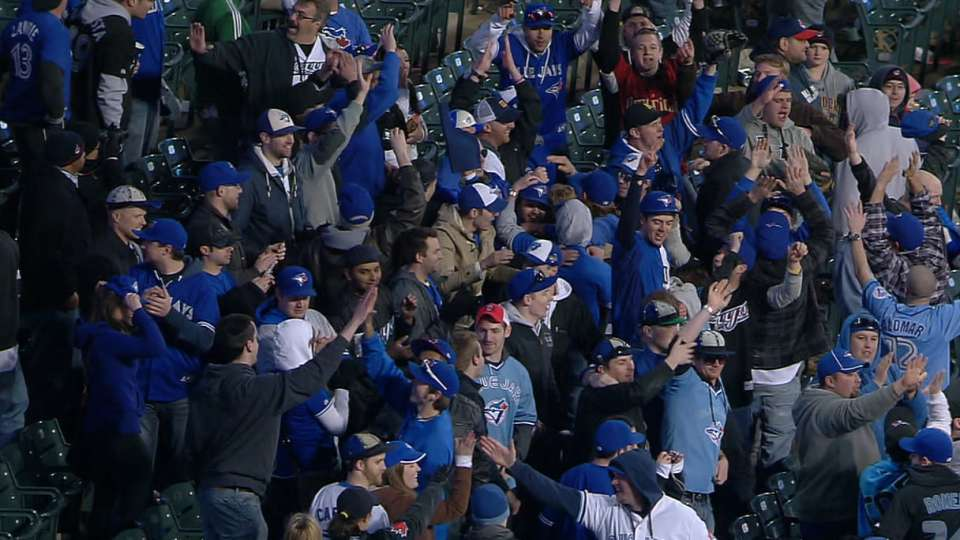 Blue Jays in 16 on Opening Day