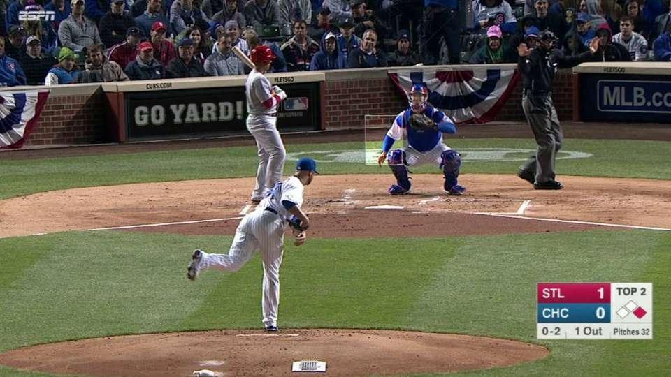 Lester's non-pitch