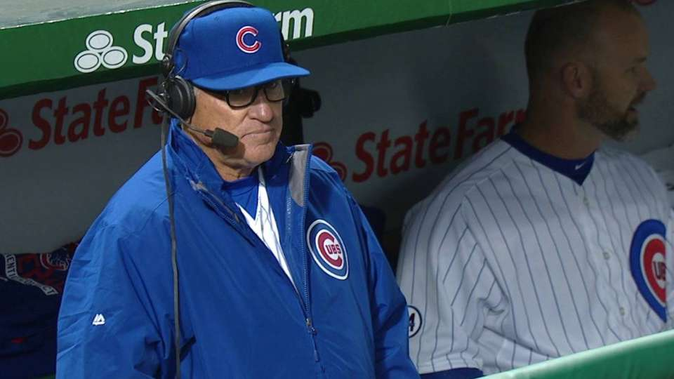 Maddon chats on Opening Night
