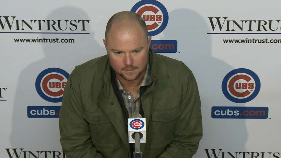 Lester on Cubs debut