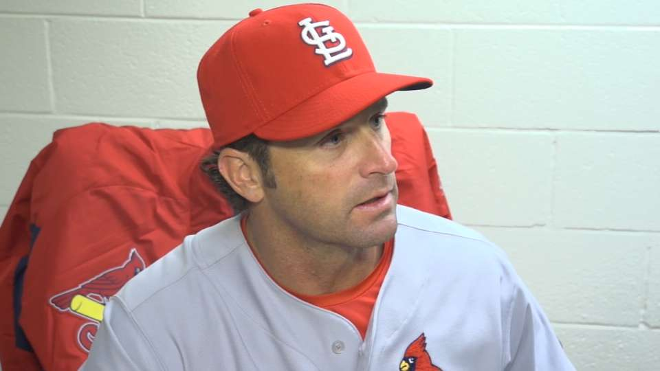 Matheny on Opening Night win