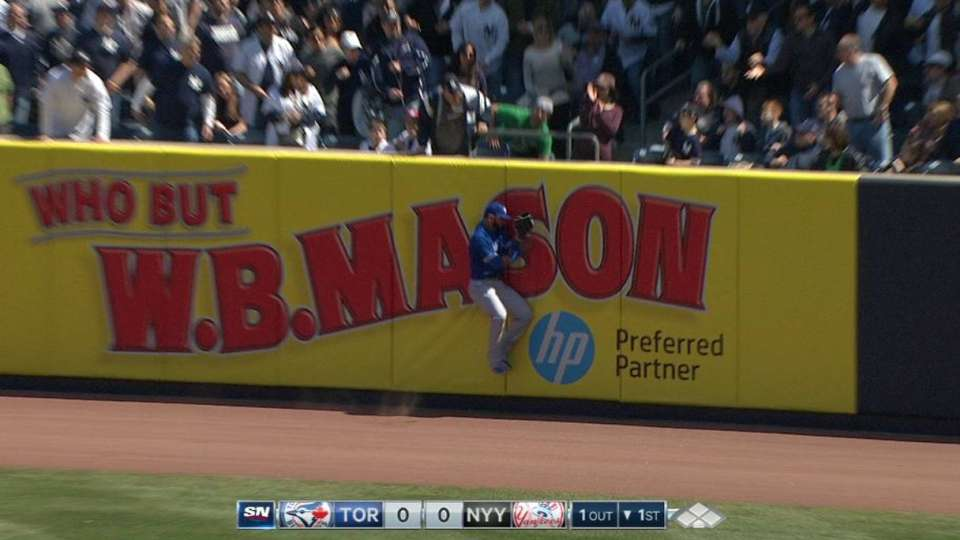 Bautista's great leaping catch