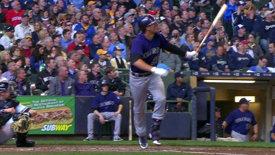Arenado's two-run homer