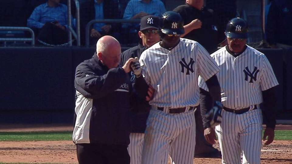 Didi gets plunked in 8th