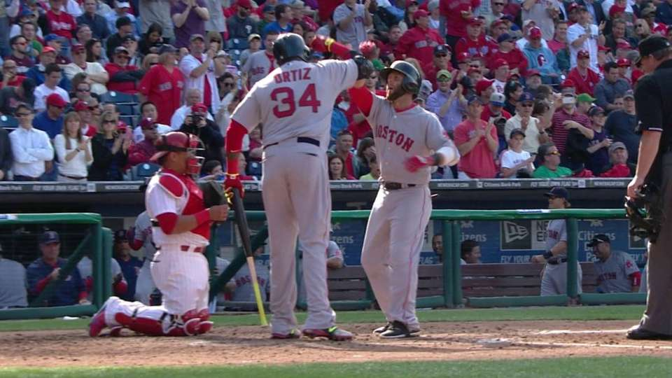 Pedroia's second homer