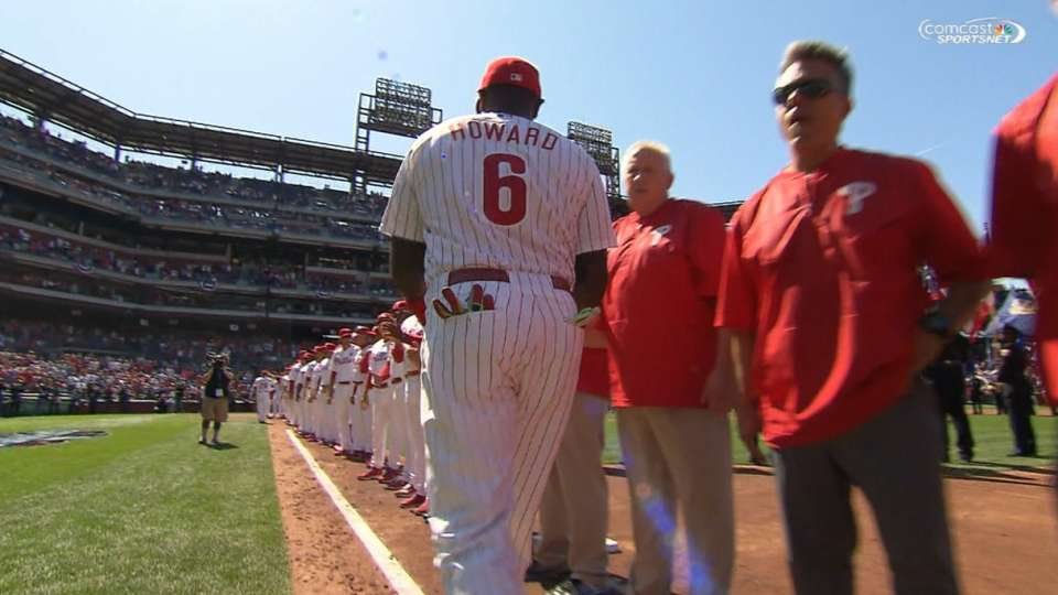 Phillies starters introduced