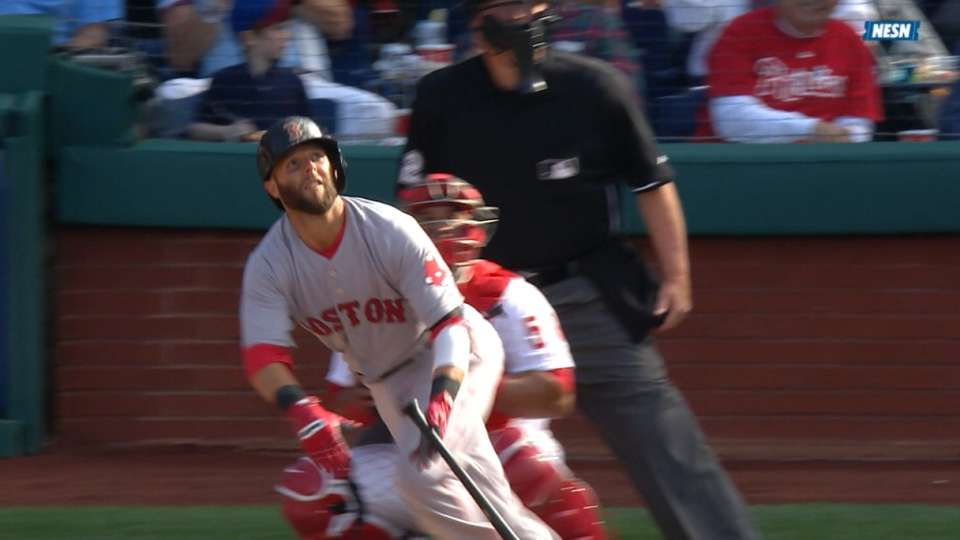 Pedroia's two-homer game