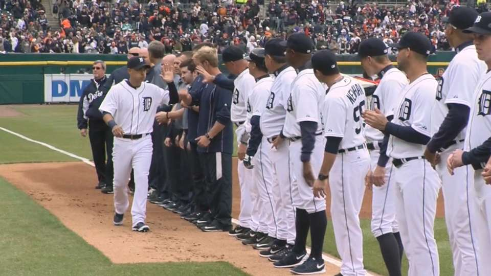 Tigers starters introduced