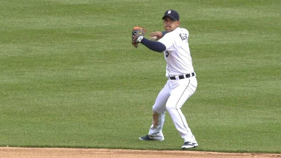 Iglesias shows off range
