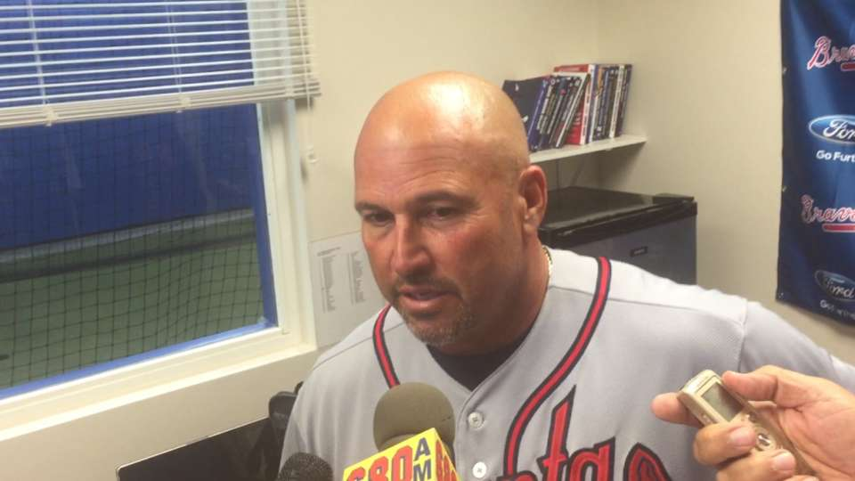 Fredi on Braves' Opening Day win