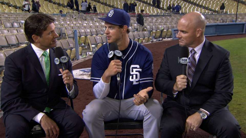 Myers, Kimbrel on Padres' win