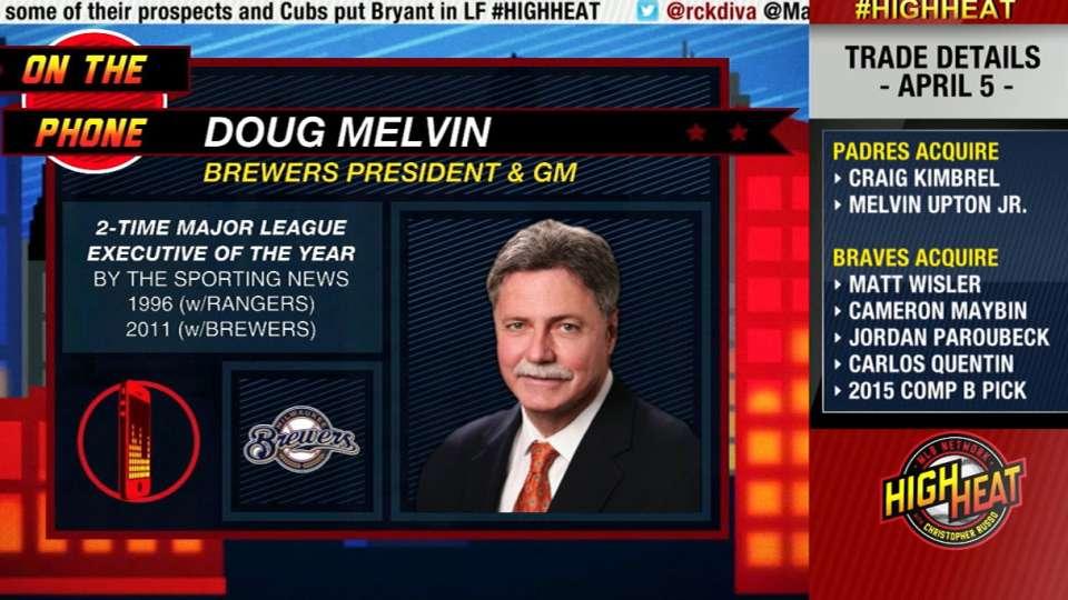 Doug Melvin on High Heat