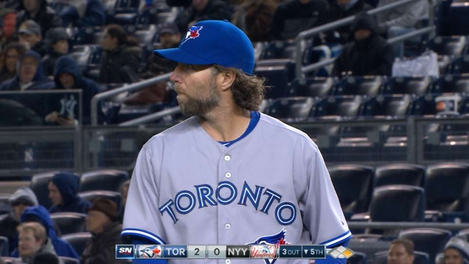 Dickey's one-run outing