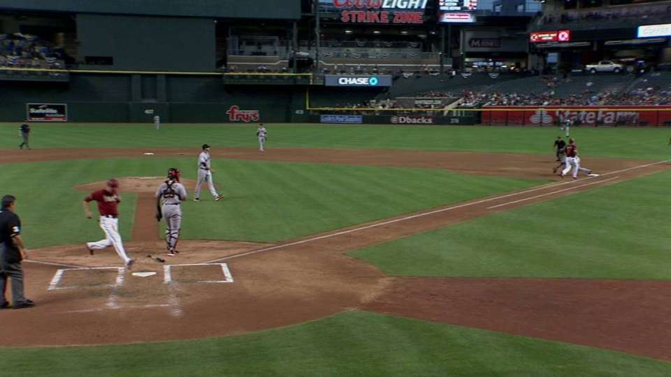 Owings' productive grounder
