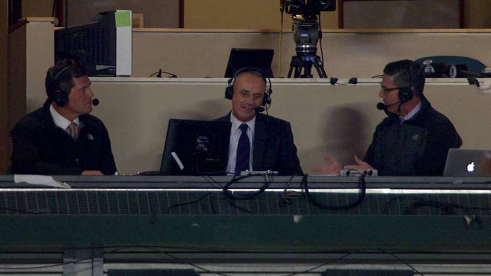 Manfred on pace of play
