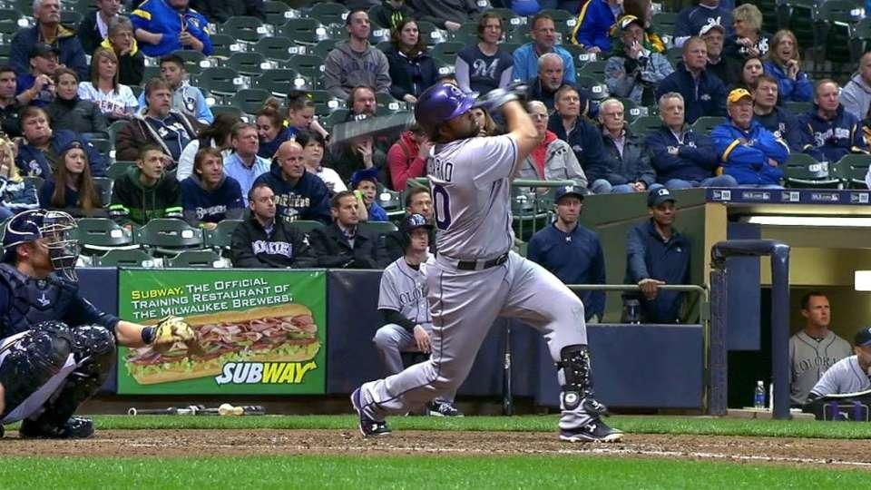 Rosario's pinch-hit homer