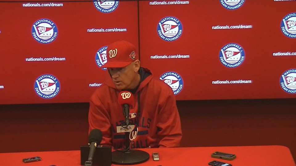 Williams on Nats' 2-1 win