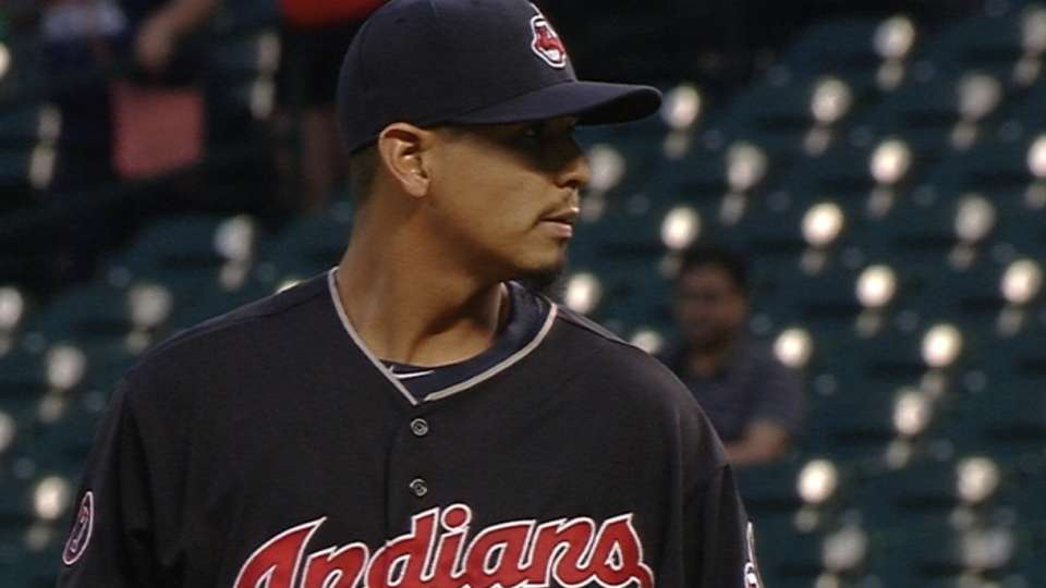 Carrasco strikes out 10