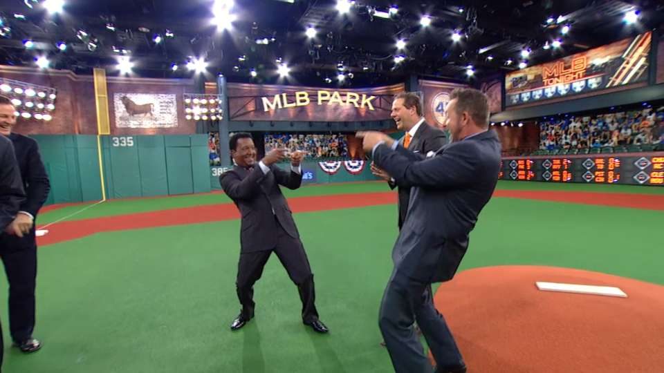 Pedro debuts on MLB Network