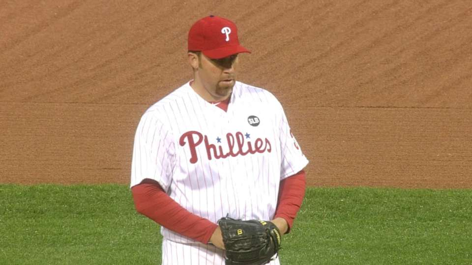 Harang's Phillies debut