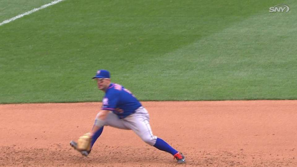 Wright's fine backhanded stop