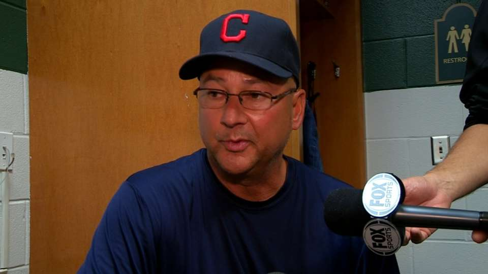 Francona on Bauer's day