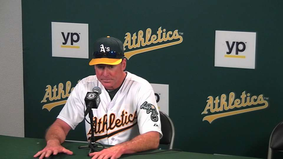 Melvin on 10-1 loss to Rangers