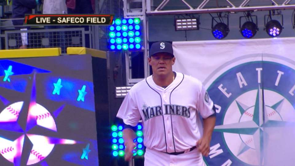 Mariners Opening Day ceremony