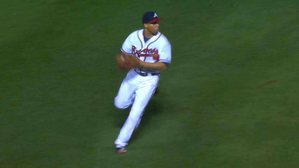 Simmons' incredible throw