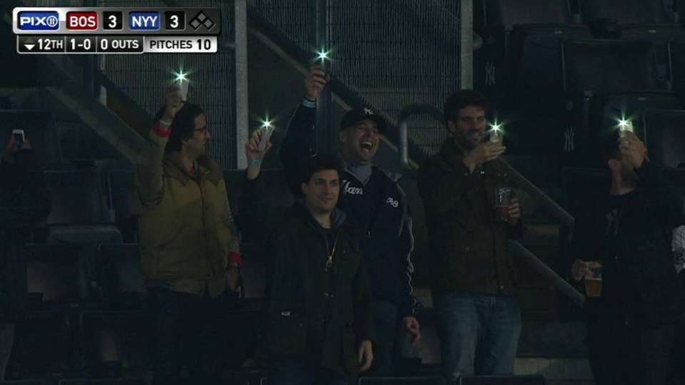 Fans make light of power surge