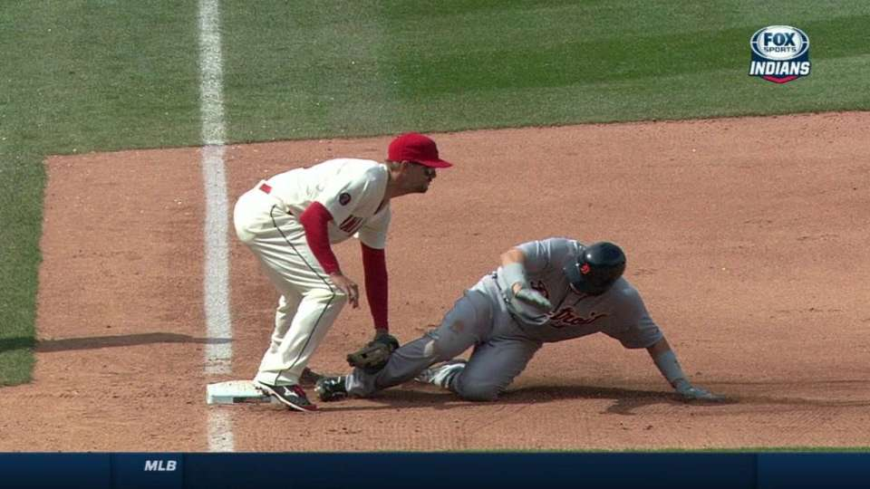 Perez nabs Castellanos stealing