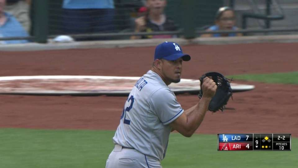 Peralta records the save