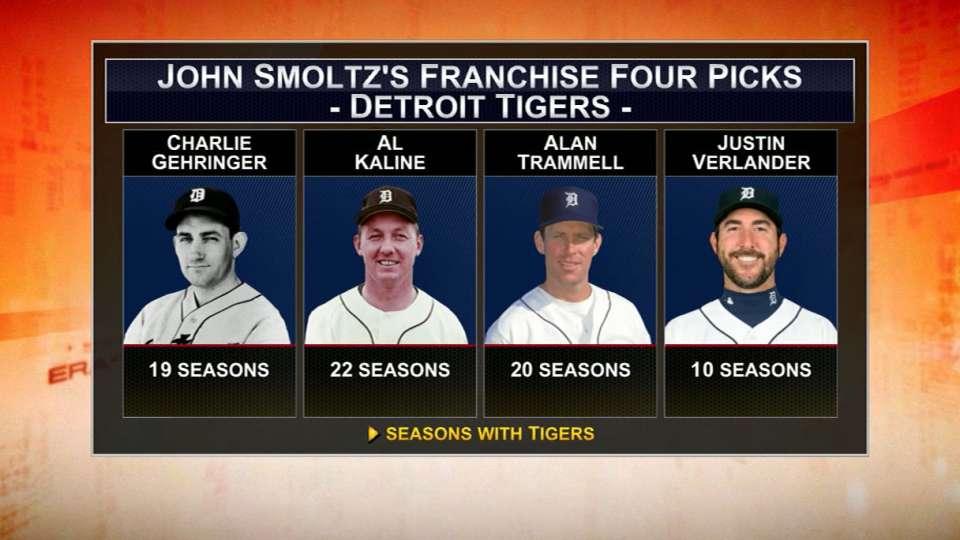 Smoltz names his Franchise Four