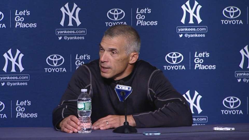 Girardi on Yankees' 14-4 win
