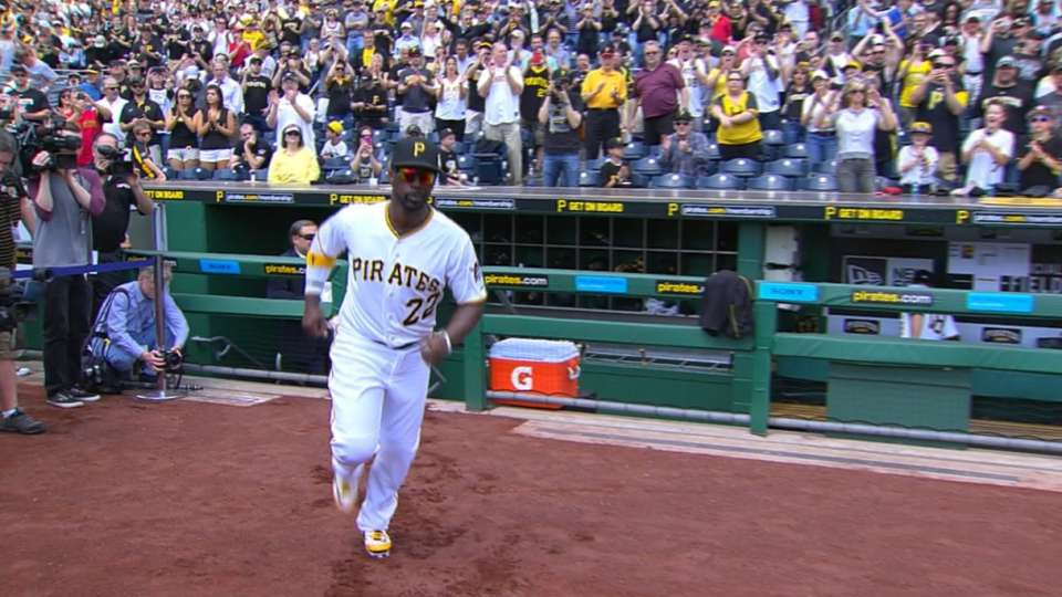 Pirates introduced at PNC Park