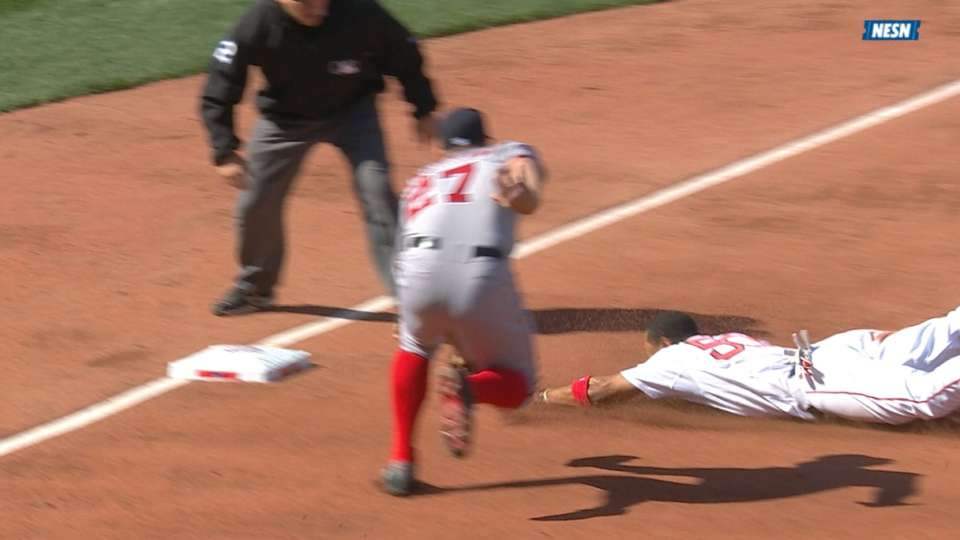 Betts' double steal
