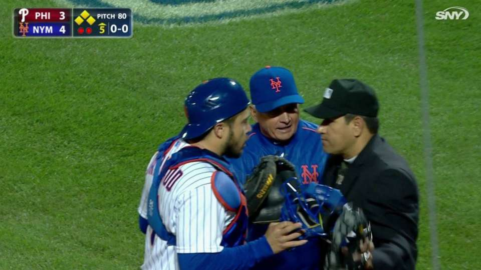Collins ejected in 5th inning
