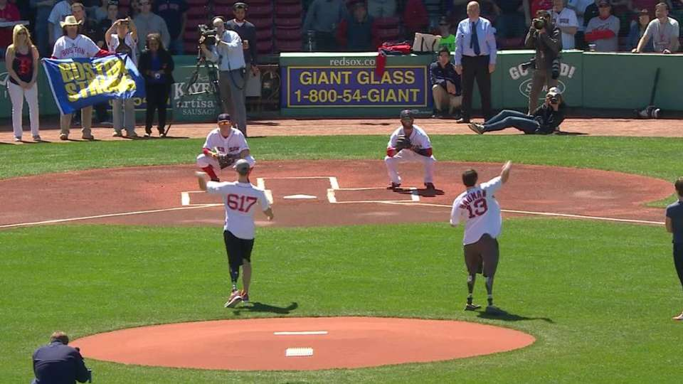 Red Sox honor One Boston Day