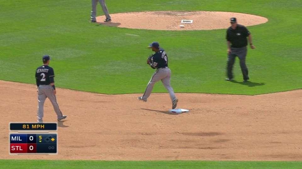 Segura's fantastic fielding