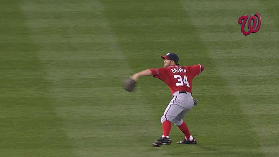 Harper's incredible throw